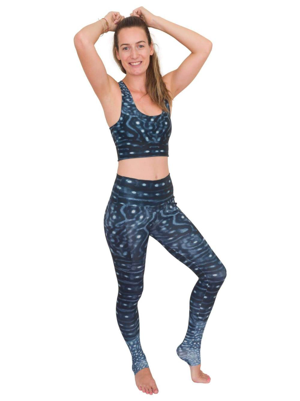 waterlust workout leggings with side pockets