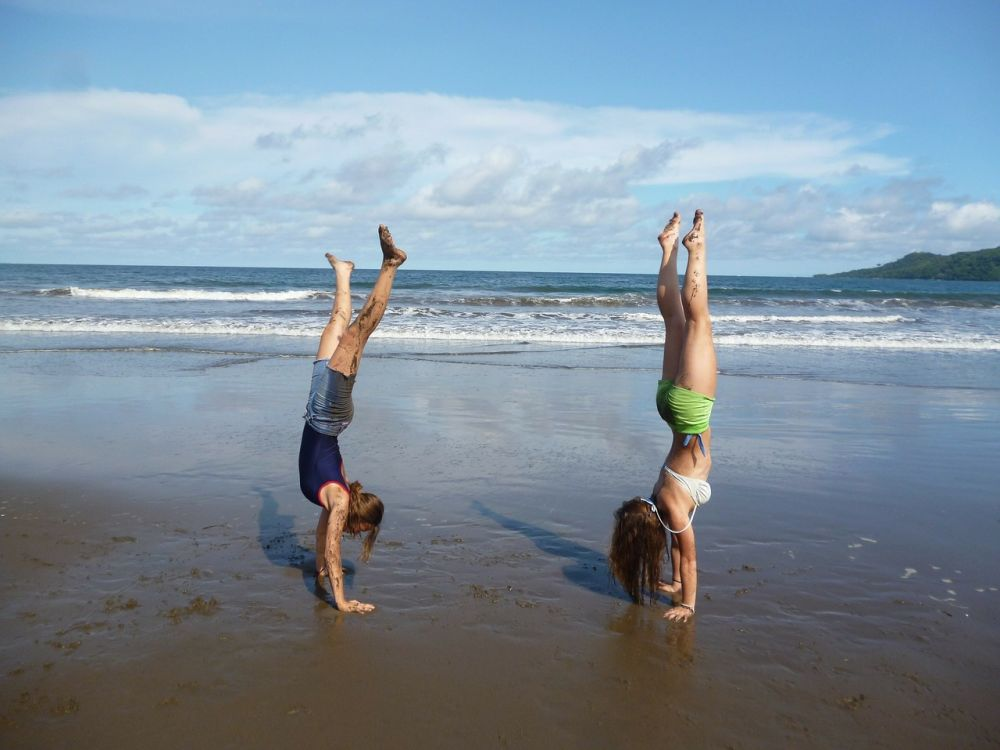 handstand yoga exercises weight loss