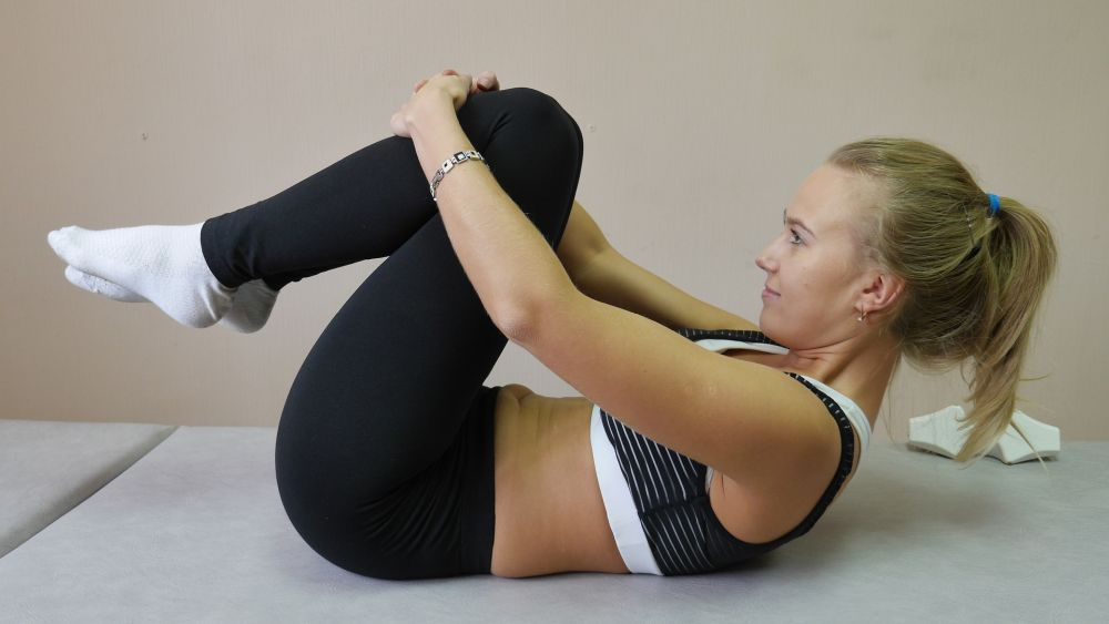 yoga belly fat exercise