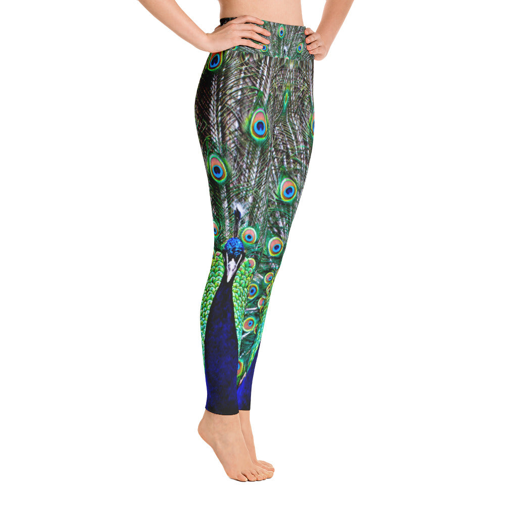 Strong Peacock Leggings