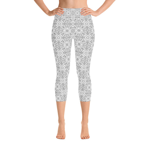 Black White Camo Leggings
