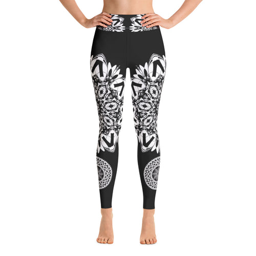 Mandala Flower Leggings