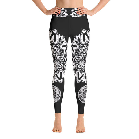 White Peacock Leggings