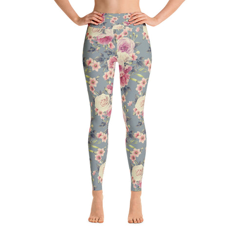 Snow White Capri Leggings