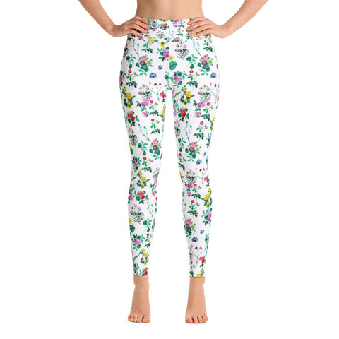 Rose Peacock Leggings
