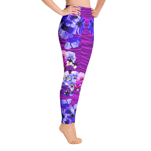 Violet Bloom Leggings