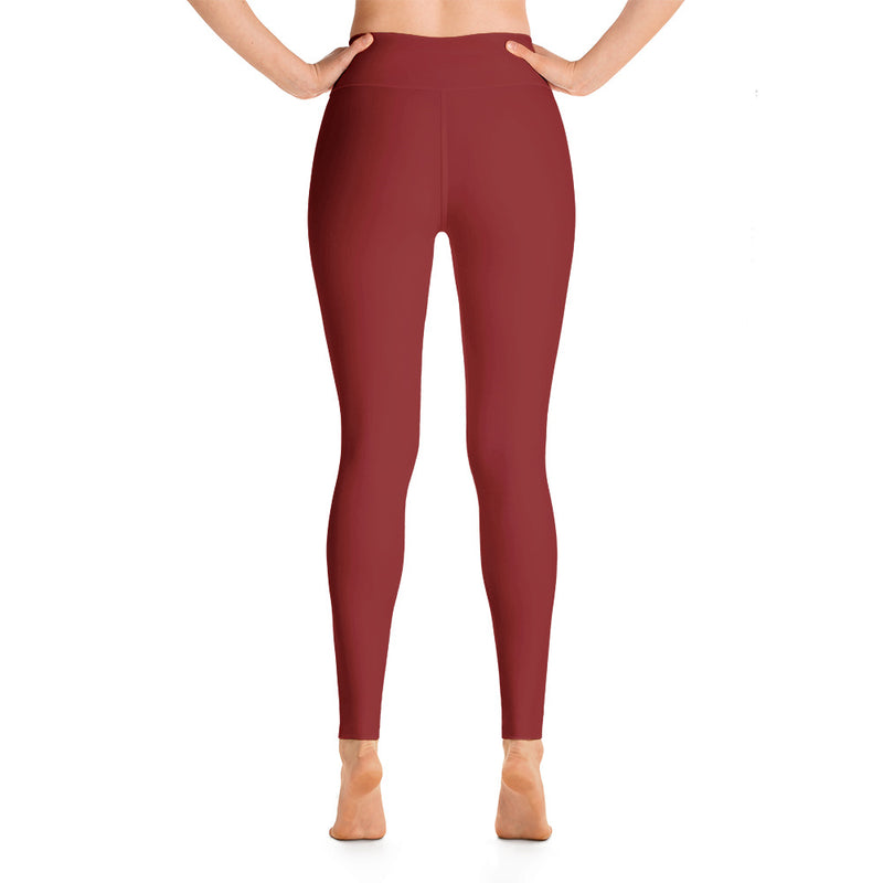 Dark Red Leggings
