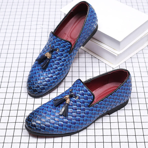 Men Quality Genuine Leather Tassel Formal Shoes