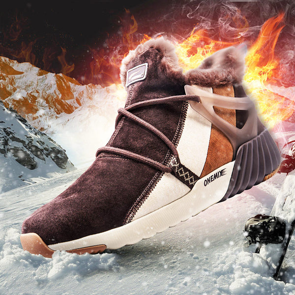 Outdoor Waterproof Comfortable Walking Sports Snow Boots