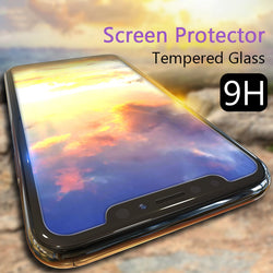 Toughened Tempered Glass Protective Cover Film for iPhone