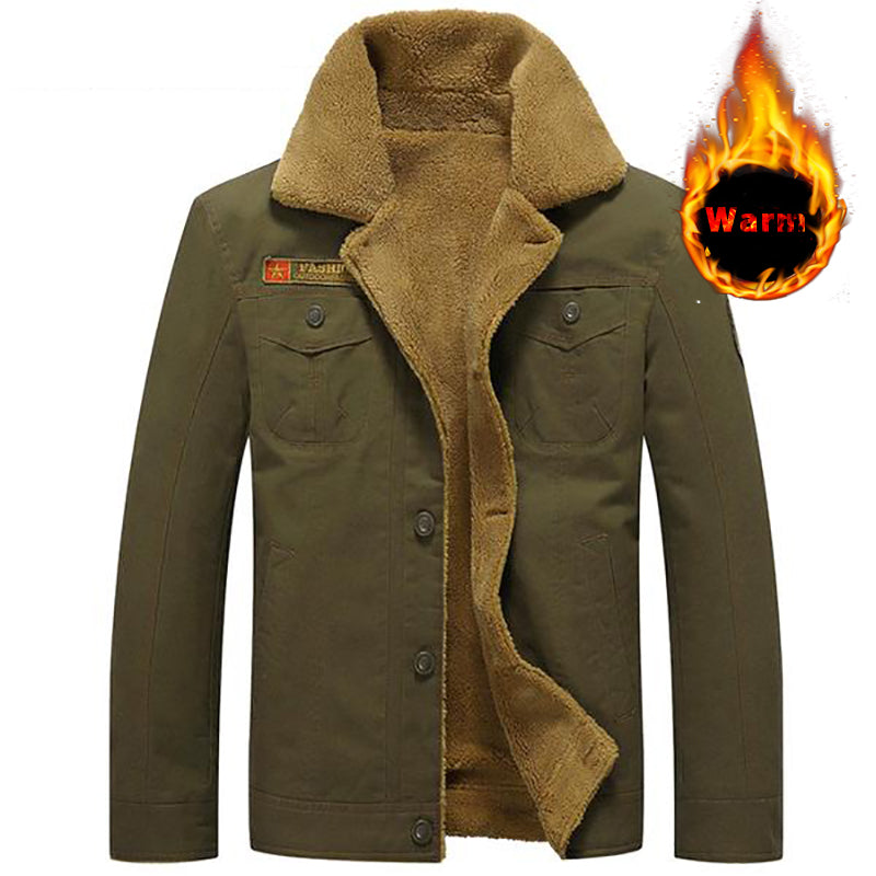 Winter Mens Warm  Military Tactical Parka Outerwear Jackets