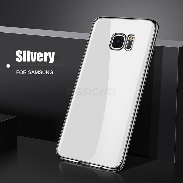Transparent Silicone Phone Cases For Samsung