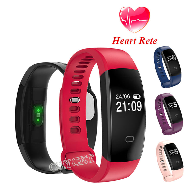 Fitness Tracker Heart Rate Monitor Waterproof  Intelligent Bluetooth Smart Band