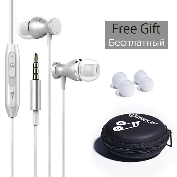In-line Clarity Stereo Sound Control  In-Ear Earphone Headset