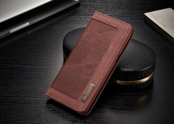 Phone Case - Luxury Protective Flip Wallet Phone Case For Samsung Galaxy