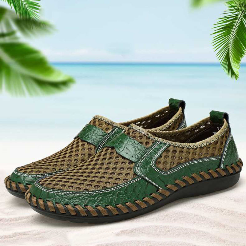 New Big Size Summer Breathable Mesh Men's Casual Shoes