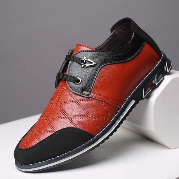 Men Breathable Buiness Formal Casual Leather Shoes