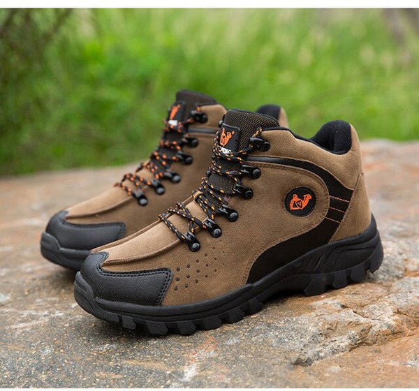 High Quality Outdoor Waterproof Warm Winte Hiking Mouintain Boots
