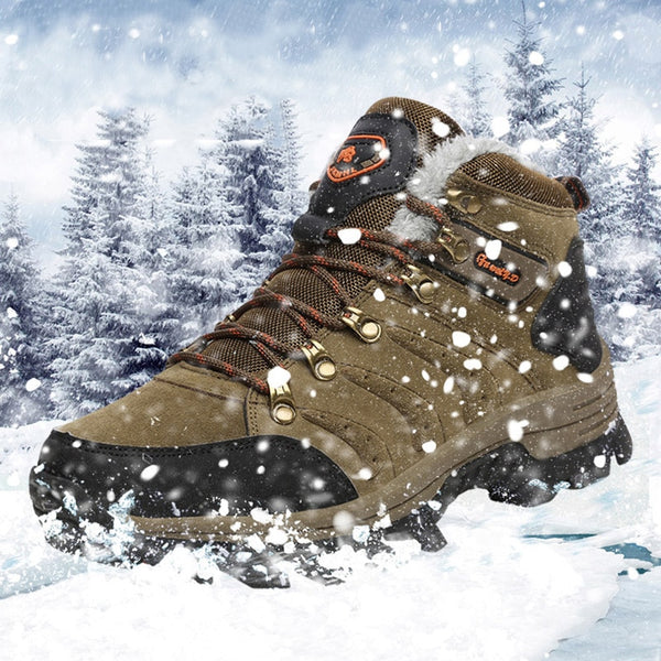 Men High Top Non-Skid Trail Trekking Climbing Boots