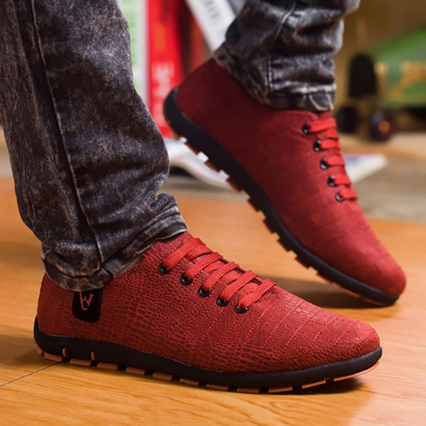 Fashion Men Comfortable Sneakers Male Outdoor Walking Cloth Shoes