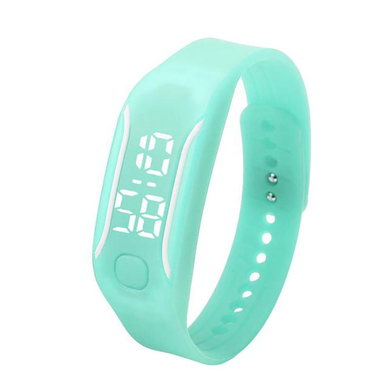 Fashion LED Digital Silicone Rubber Sport Unisex Watch