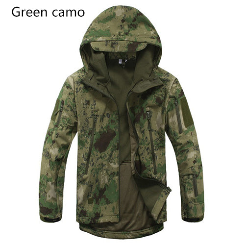 Brand Jacket V5.0 Military Tactical Men Waterproof Windproof  Jacket