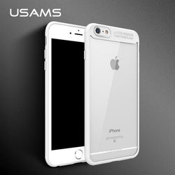 Full Protective Original TPU & Acrylic Transparent Back Cover for iPhone