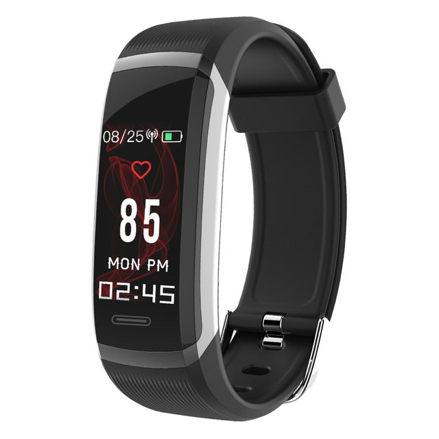 Fitness Tracker-Color Screen Heart Rate Monitor Sleep Sports Tracker Smart Watch