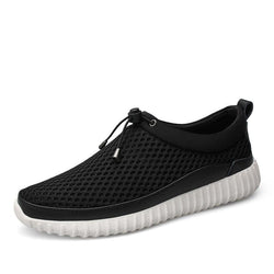Large Size Air Mesh Breathable Slip-on Casual Shoes