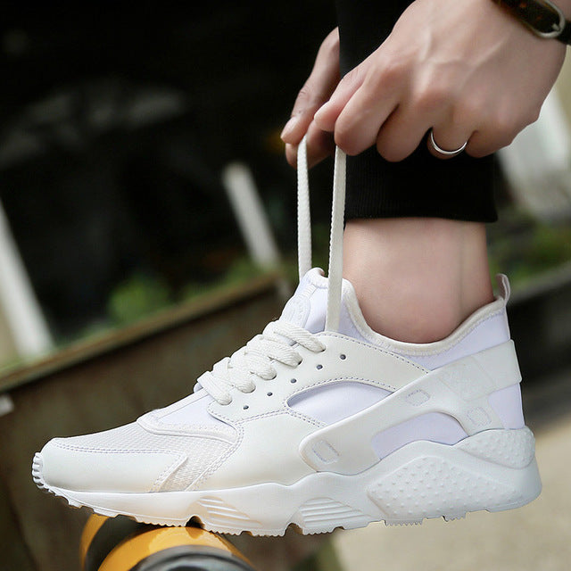 Outdoor Big Size Breathable Mesh Rubber Men's Sneakers
