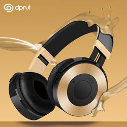 Foldable Wireless Earphone Hifi Stereo Dynamic Music Headset