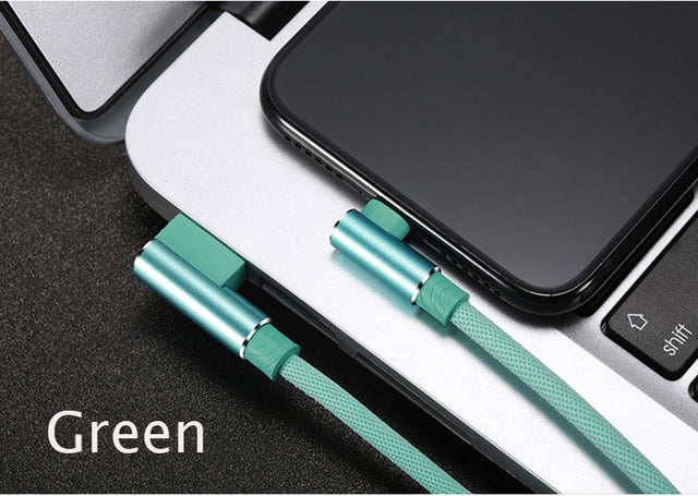 Type-C 90 Degree USB Cable for Android