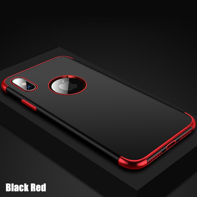 Shockproof Soft Silicone Back Cover For iPhone