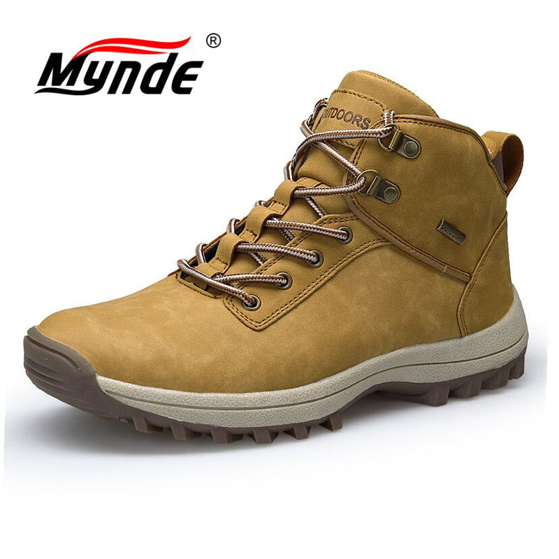 Autumn Winter Men's High Quality Waterproof  Sneakers Boots
