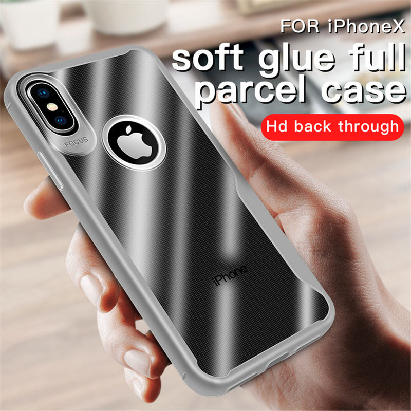 Luxury Crystal Soft Silicone TPU Armor Phone Cover for iPhone