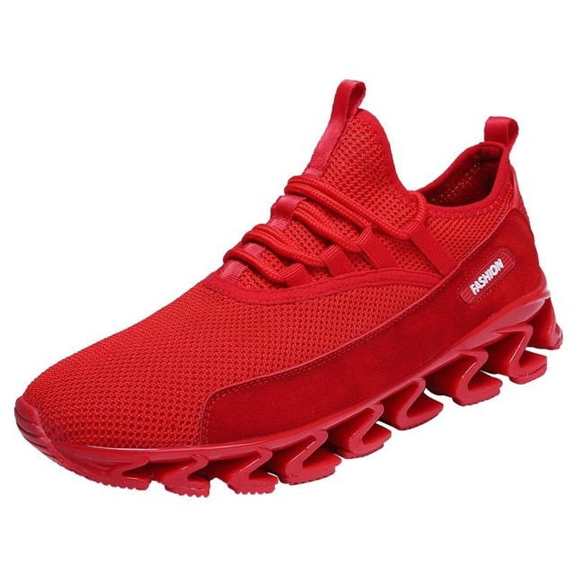Plus Size Men's Breathable Running Shoes Trending Style Sneakers