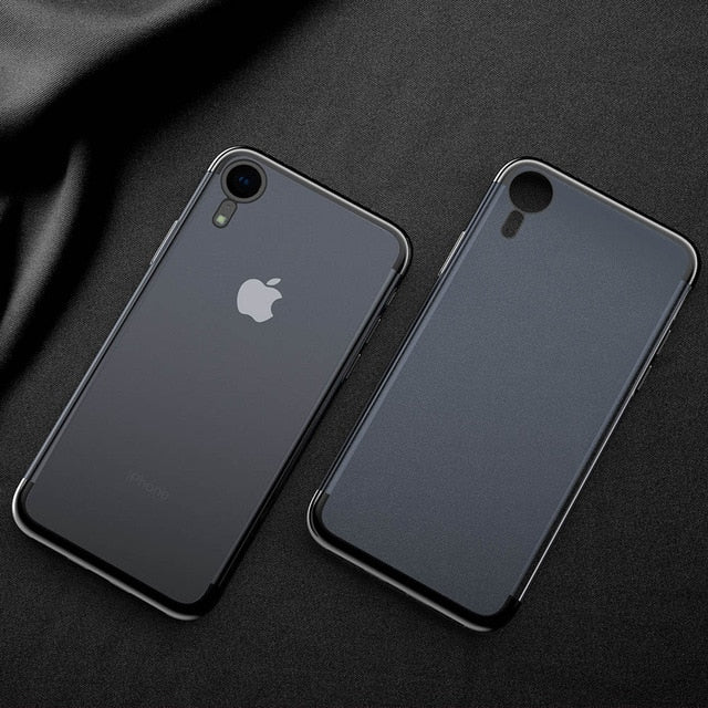 New 7D Silicone TPU  Mixed silicon Cover Case For X Xs Max Xr