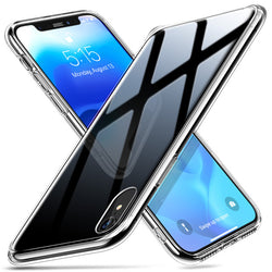 TPU Frame Toughened Glass Cover for iPhone X XR XS Max