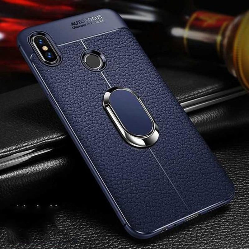 Leather Magnetic Bracket Car Holder Case, Better Than The Photo One