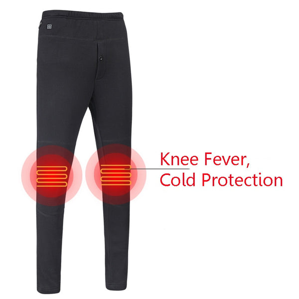 bb4023a475fde Winter Men Women Outdoor Thickened USB Charging Heated Pants – ONEVYE