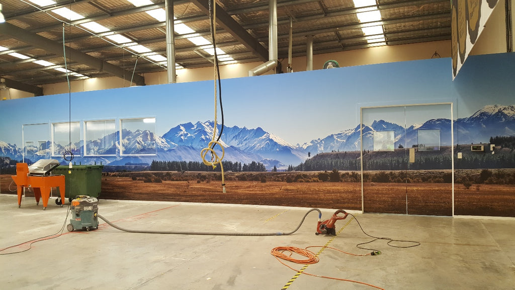 large format printing licensing landscape wall art commercial space