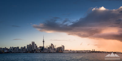 Epic Auckland Sky Tower - Newzealandscapes photo canvas prints New Zealand
