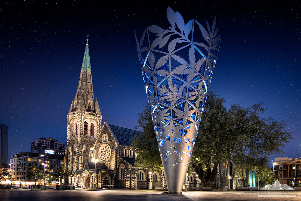 Cathedral and Chalice in Christchurch before 2011 earthquake