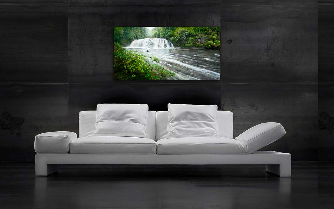 Coal Creek Falls - Newzealandscapes photo canvas prints New Zealand