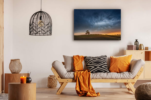 Wall art on lounge wall of quality canvas or photographic paper
