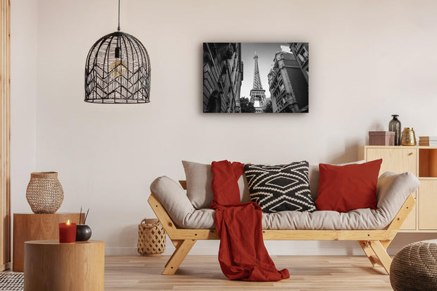 Eiffel Tower From the Streets of Paris