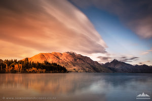 Morning Light On The Remarkables