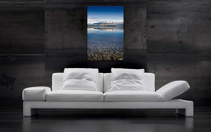 Mountains from Lake Wanaka - Newzealandscapes photo canvas prints New Zealand