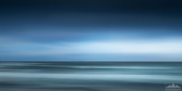 Abstract Seascape at Mount Maunganui