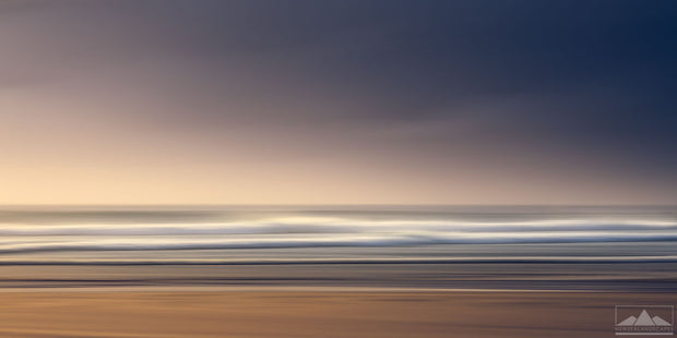 Abstract Seascape at Waihi Beach